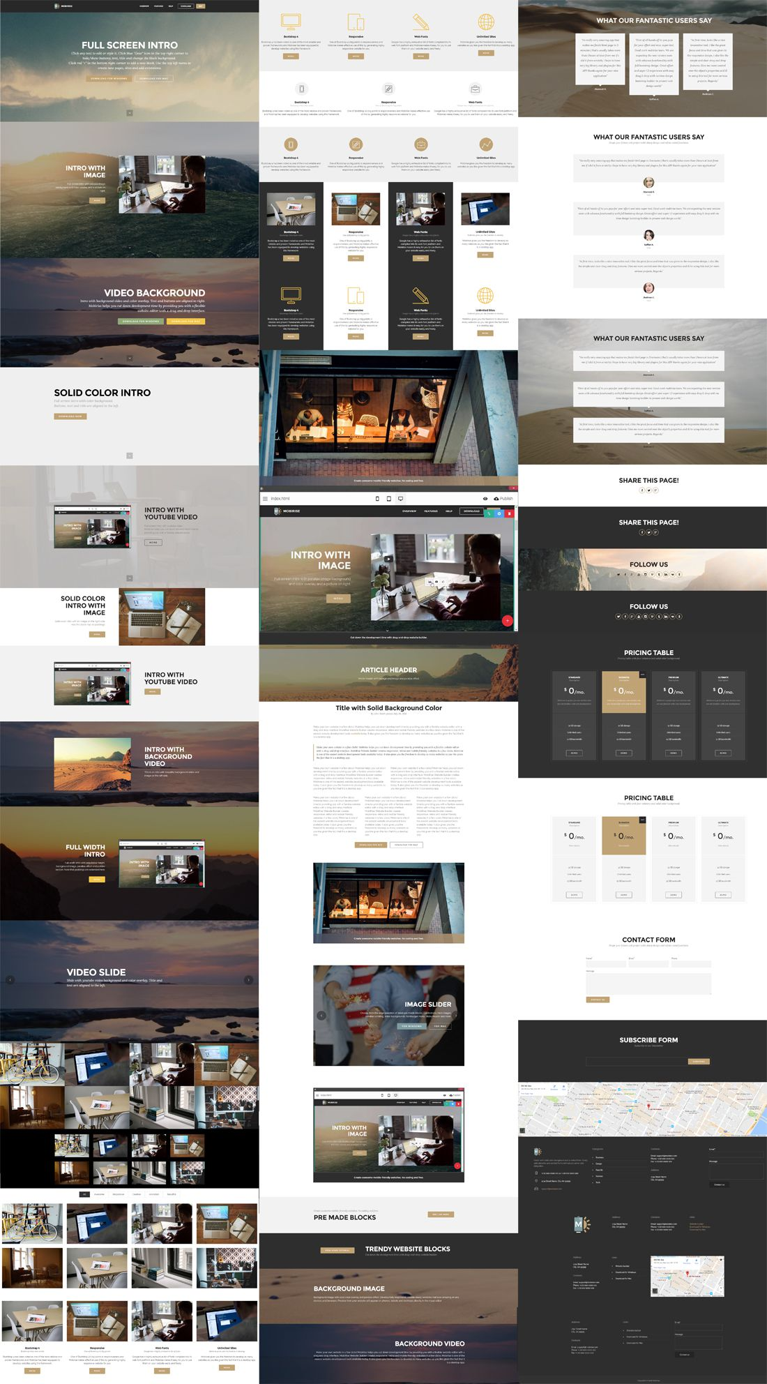 Easy website builder tags for galleries falaconquin