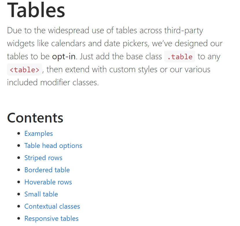 Bootstrap tables  authoritative  records