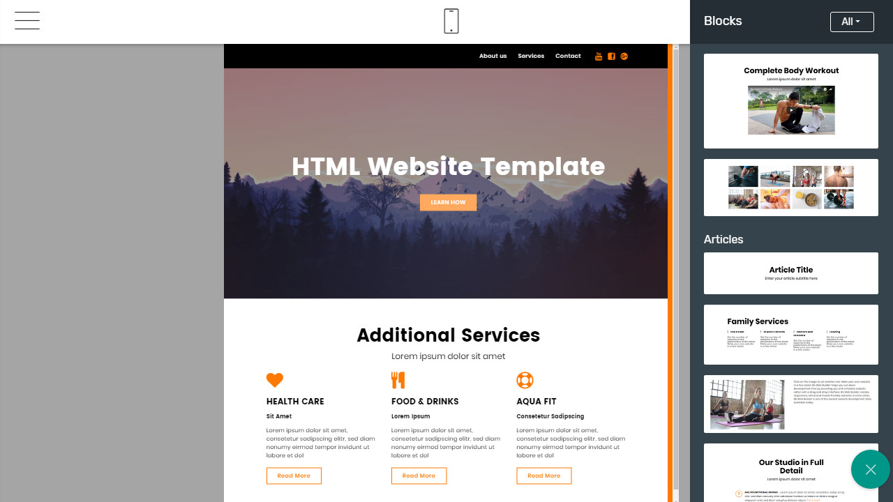 Simple Responsive Webpage Design Review