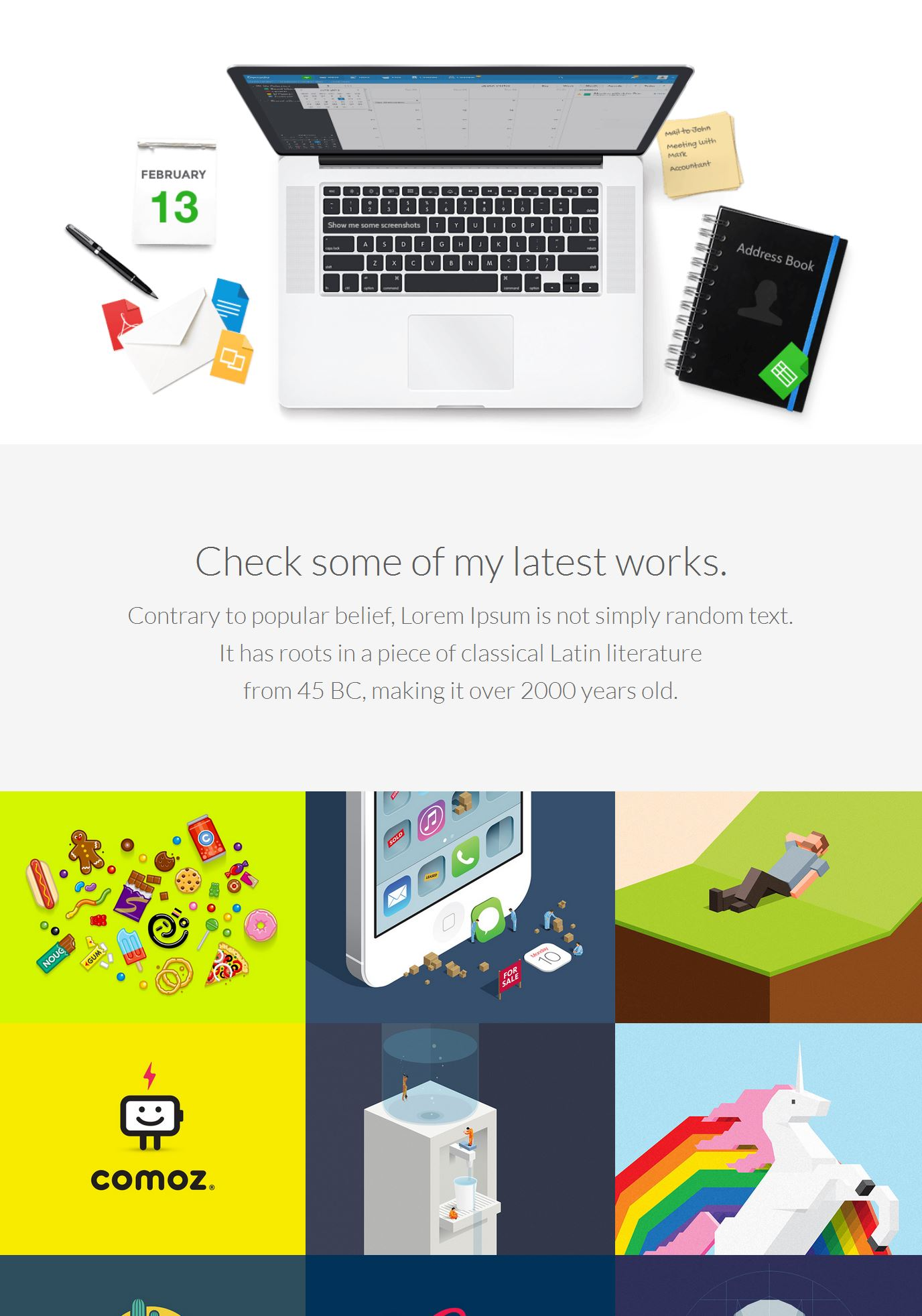 Bootstrap Single Page Template