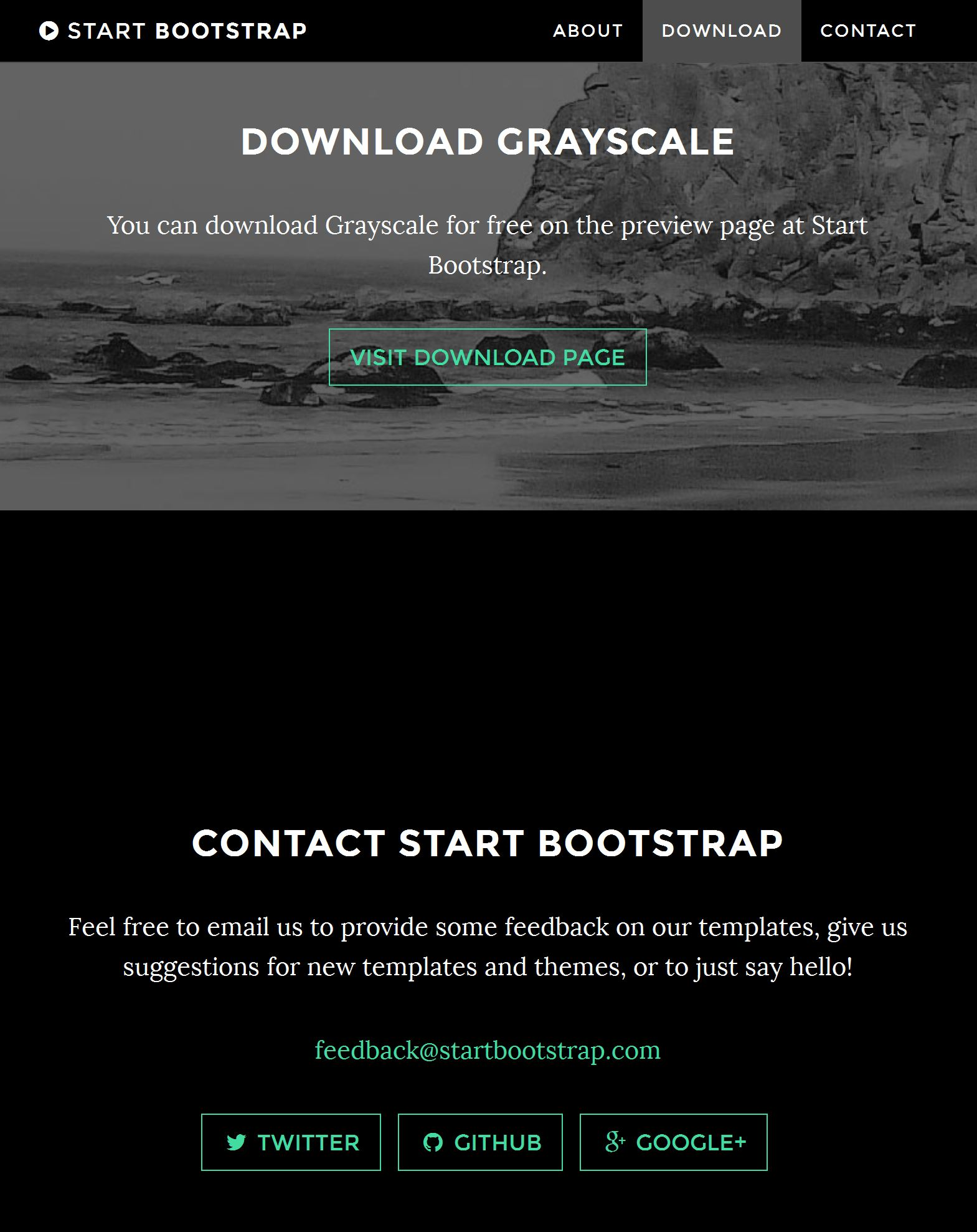 Bootstrap Template Free Download