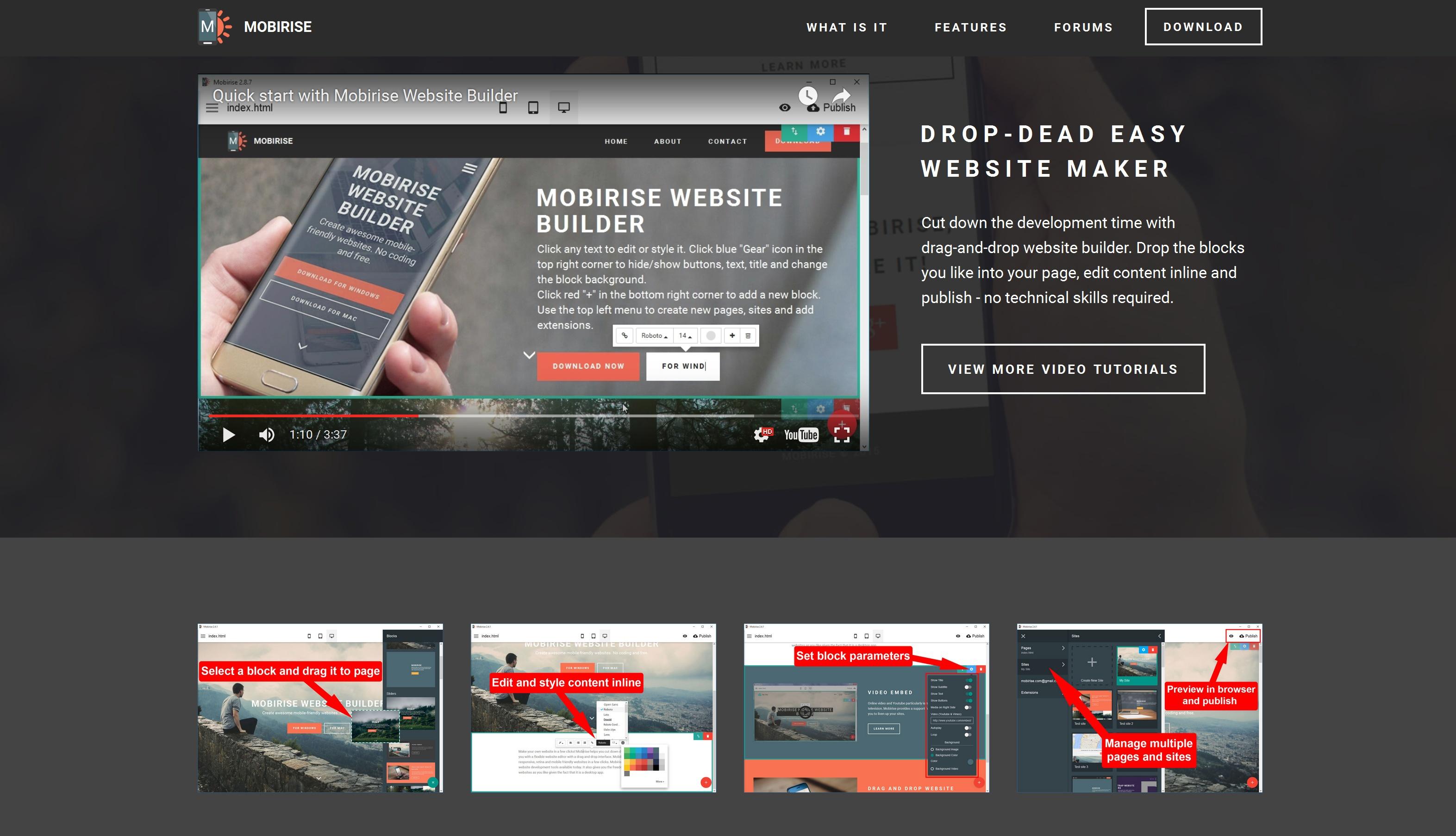 Free Mobile Website Creator Software