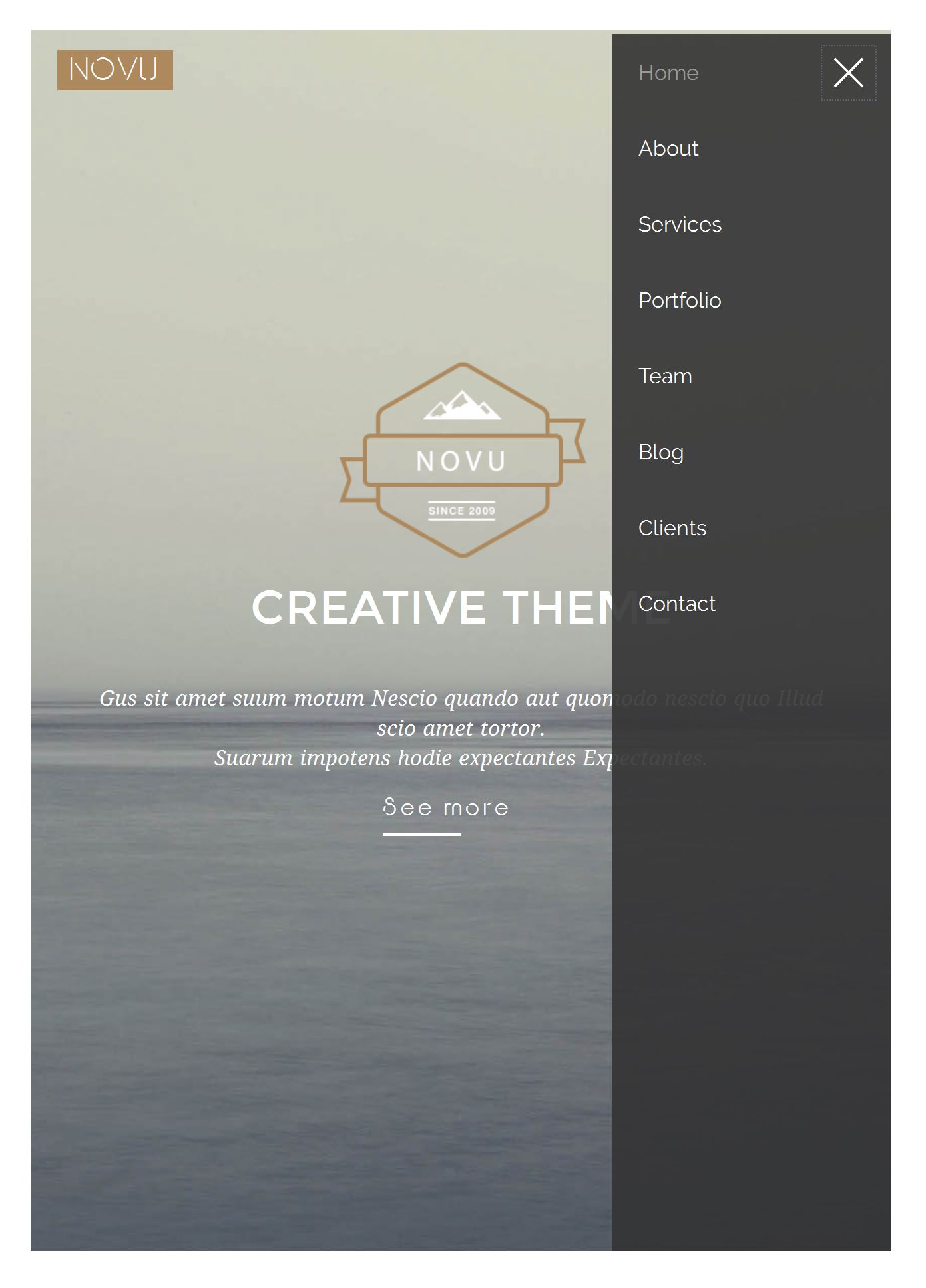 Bootstrap Application Template