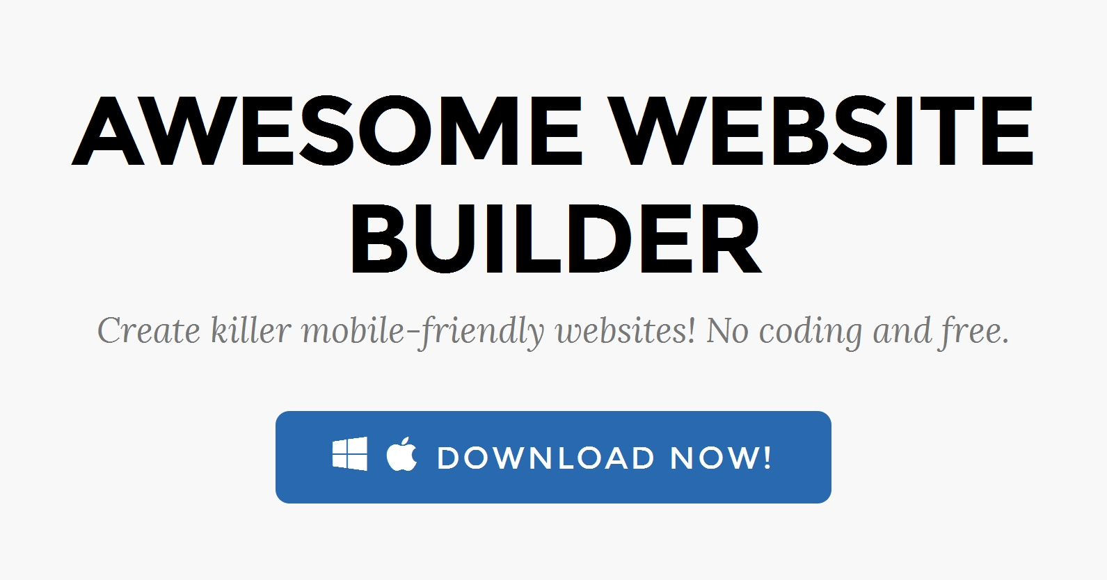 Drag and Drop Web Design Software