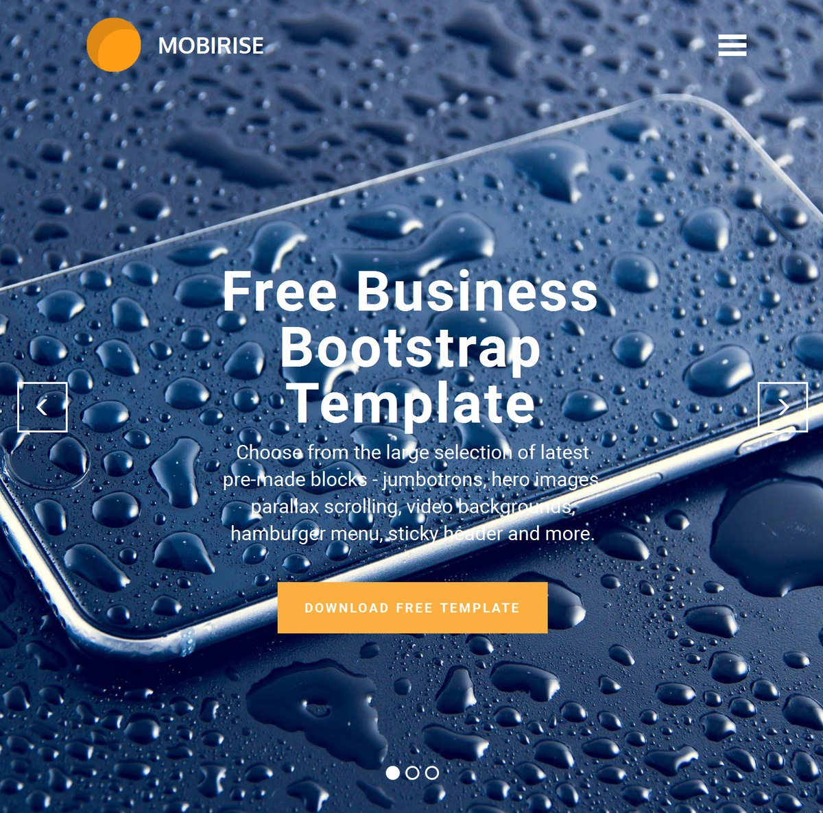 HTML5 Responsive Web Templates Themes Extensions