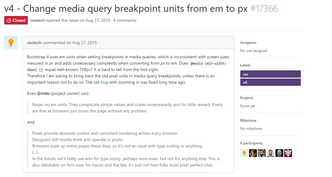 Change media query breakpoint  systems from <code></div>em</code> to <code>px</code>