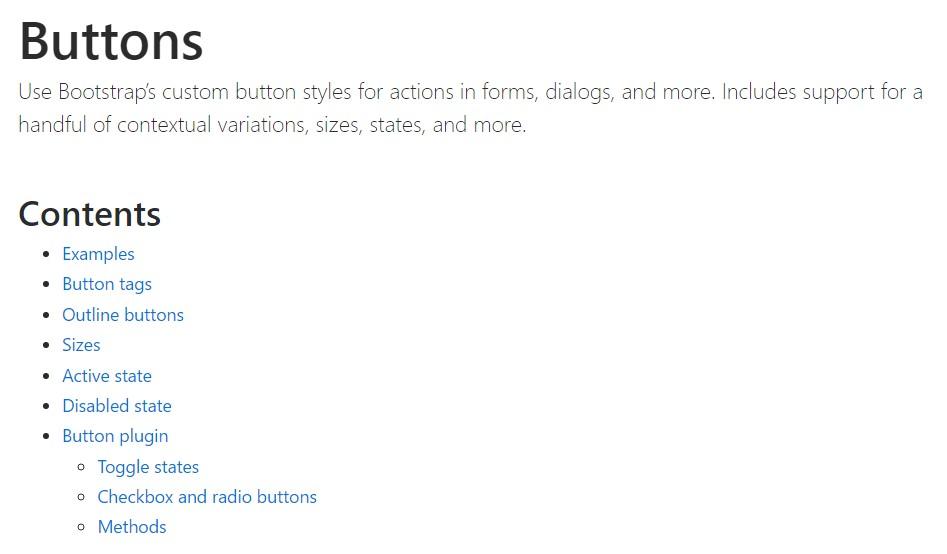 Bootstrap toggle  authoritative documentation