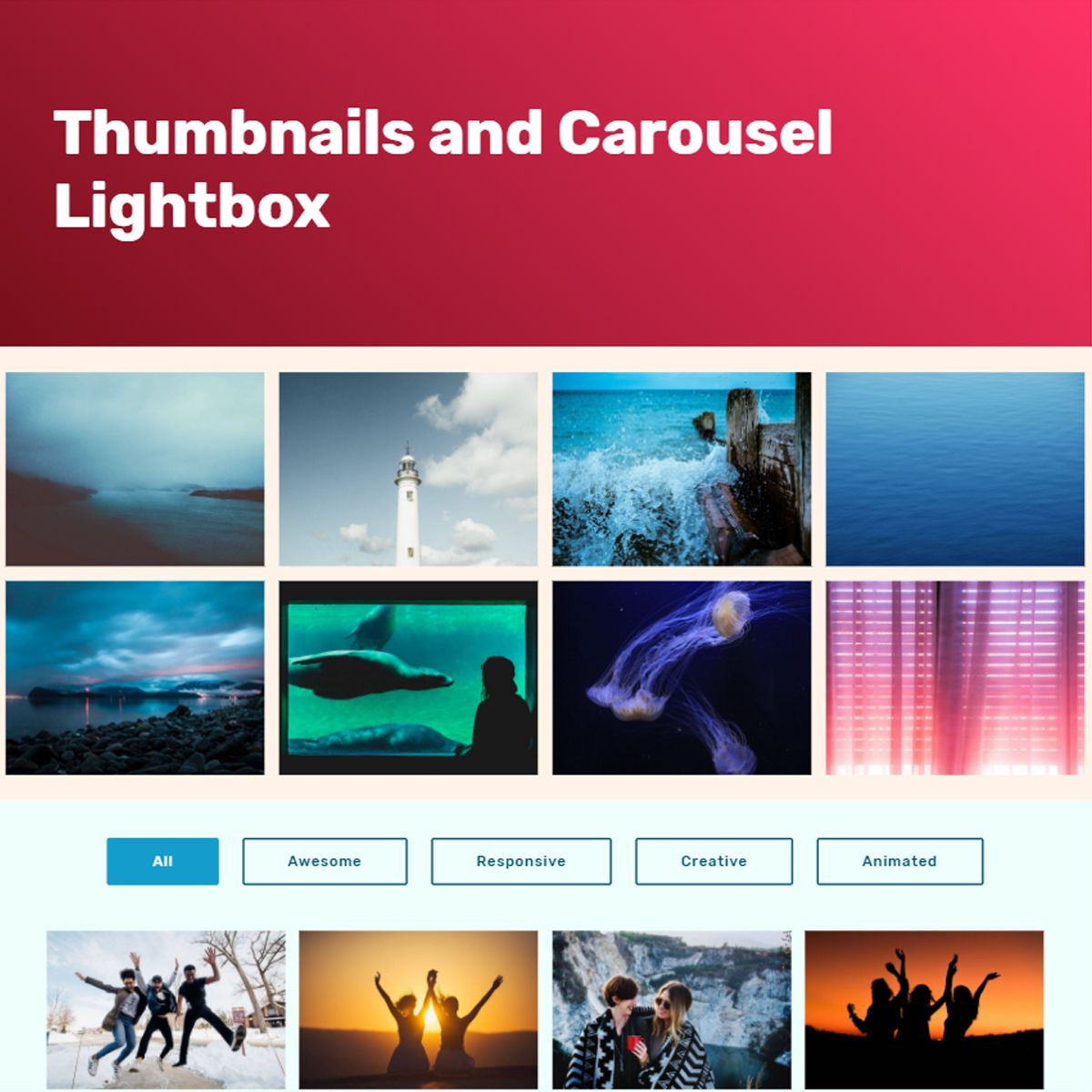 Responsive Bootstrap Image Carousel