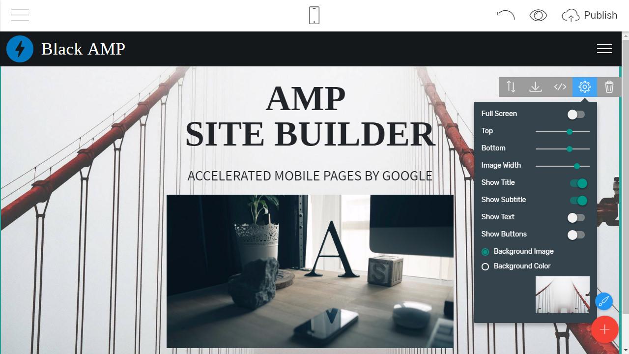 Mobile Webpage Maker